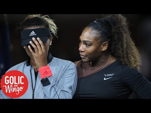 Golic and Wingo debate Serena Williams' 2018 US Open final controversy | Golic and Wingo | ESPN