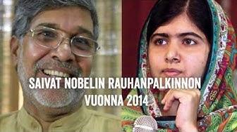 Nobelin rauhanpalkinto 2014