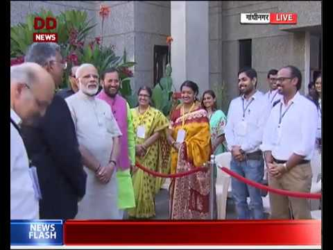 Full Event: Inaugural of newly constructed building of IIT-Gandhinagar by PM Narendra Modi