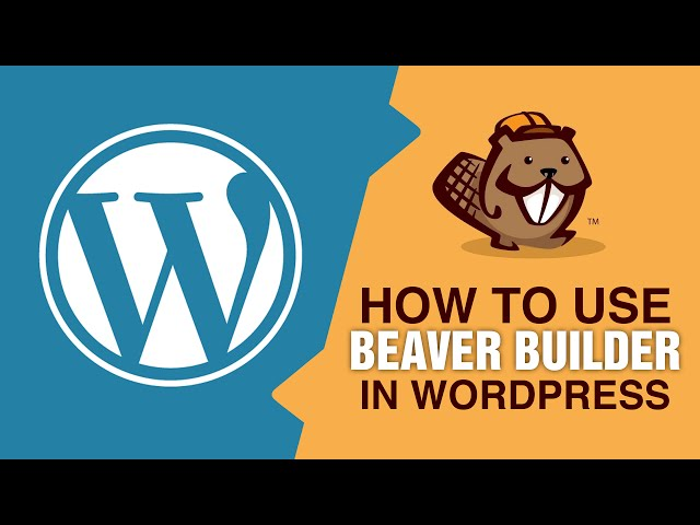 Build A WordPress Website In Minutes Using Beaver Builder