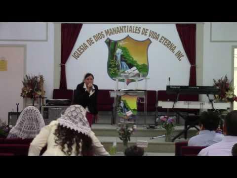 Fanny Lizeth guzman  predica-  Esta Enfermedad no es para Muerte