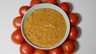 Tomato Chutney - South Indian Style Tomato Chutney For Idli, Dosa And Uttapam