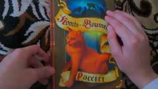 Моя коллекция книг Коты-Воители!