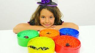 Выращиваем шарики Орбиз - Маленькая Ведьмочка Кати - Мультики для девочек