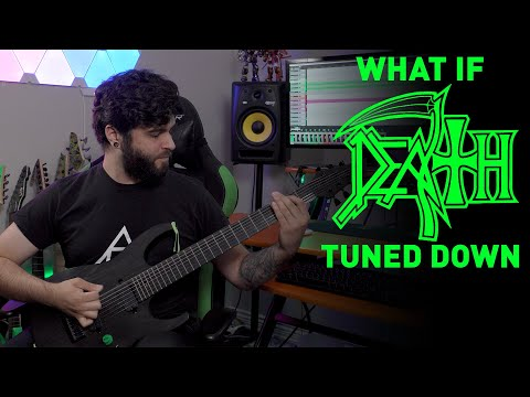What If DEATH TUNED DOWN? (7 String Guitar Riff Compilation)