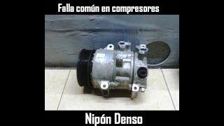 Falla común Clutch de Compresor de aire acondicionado Denso de  Toyota, Dodge, BMW, Mercedes, y mas.