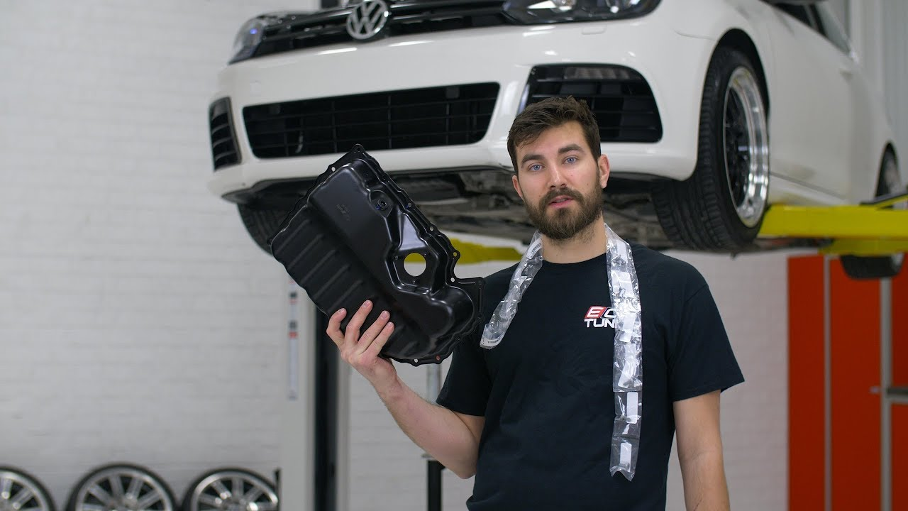 How To Replace An Oil Pan Volkswagen 2 0t Youtube