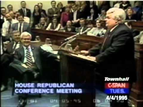 SNL's Chris Farley Impersonates Newt Gingrich