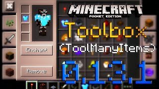 Toolbox (TooManyItems) - [Обзор аддона by MrARM] - [0.13.1] - Minecraft PE (Pocket Edition)