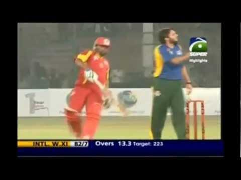 Pakistan World XI V International World XI 1st T20 2nd Innings