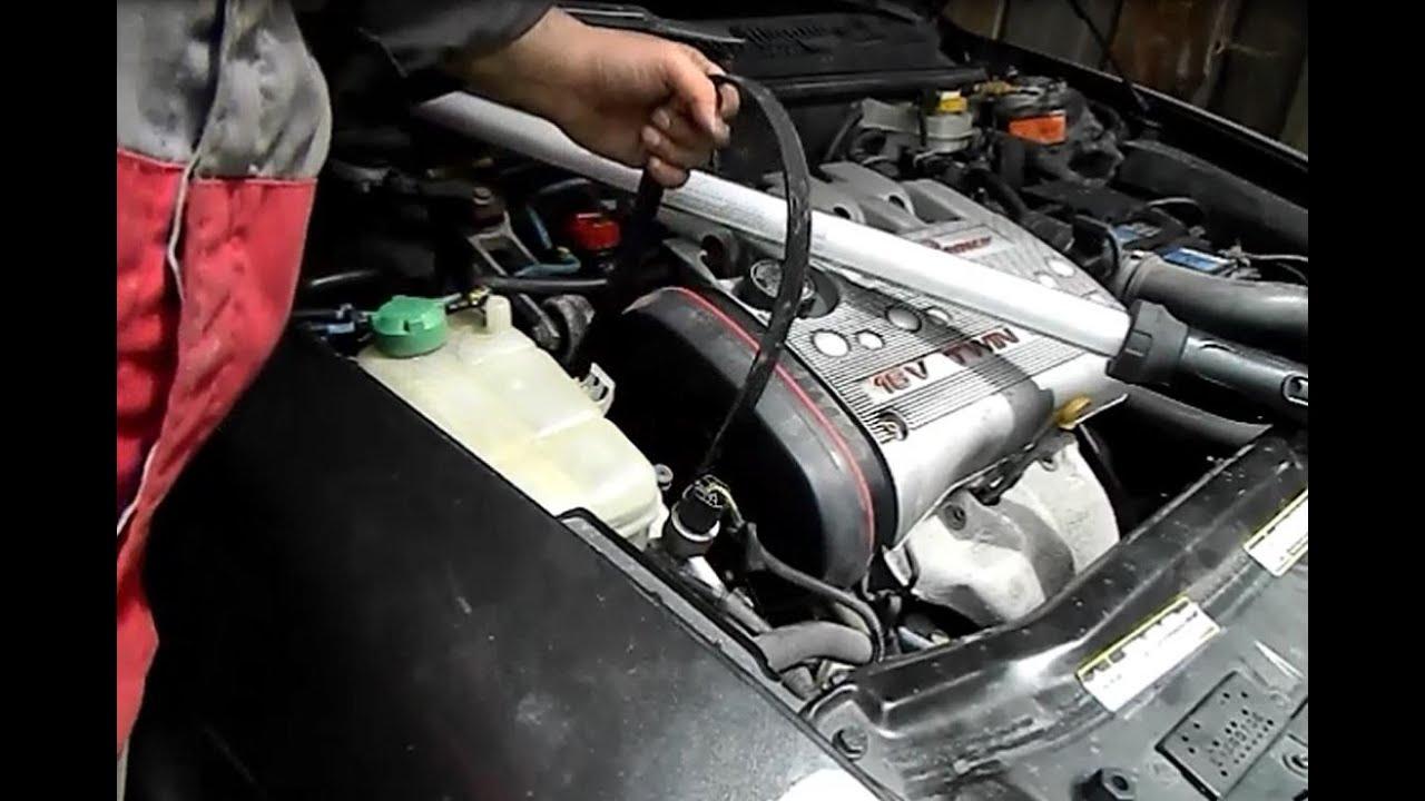 Replace Alfa Romeo 156 16v Belt English Youtube 166 Wiring Diagram Pdf