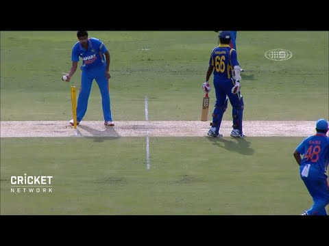 Ashwin's 'Mankad' incident from 2012 ODI