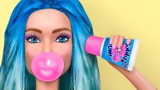 Миниатюрные сладости для Барби / 8 лайфхаков для куклы Барби