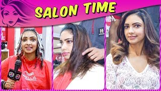 Pooja Banerjee NEW LOOK With New Hairstyle | Kasautii Zindagii Kay 2 | Salon Time