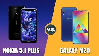 Speedtest Samsung Galaxy M20 vs Nokia 5.1 Plus: Exynos 7904 vs Helio P60