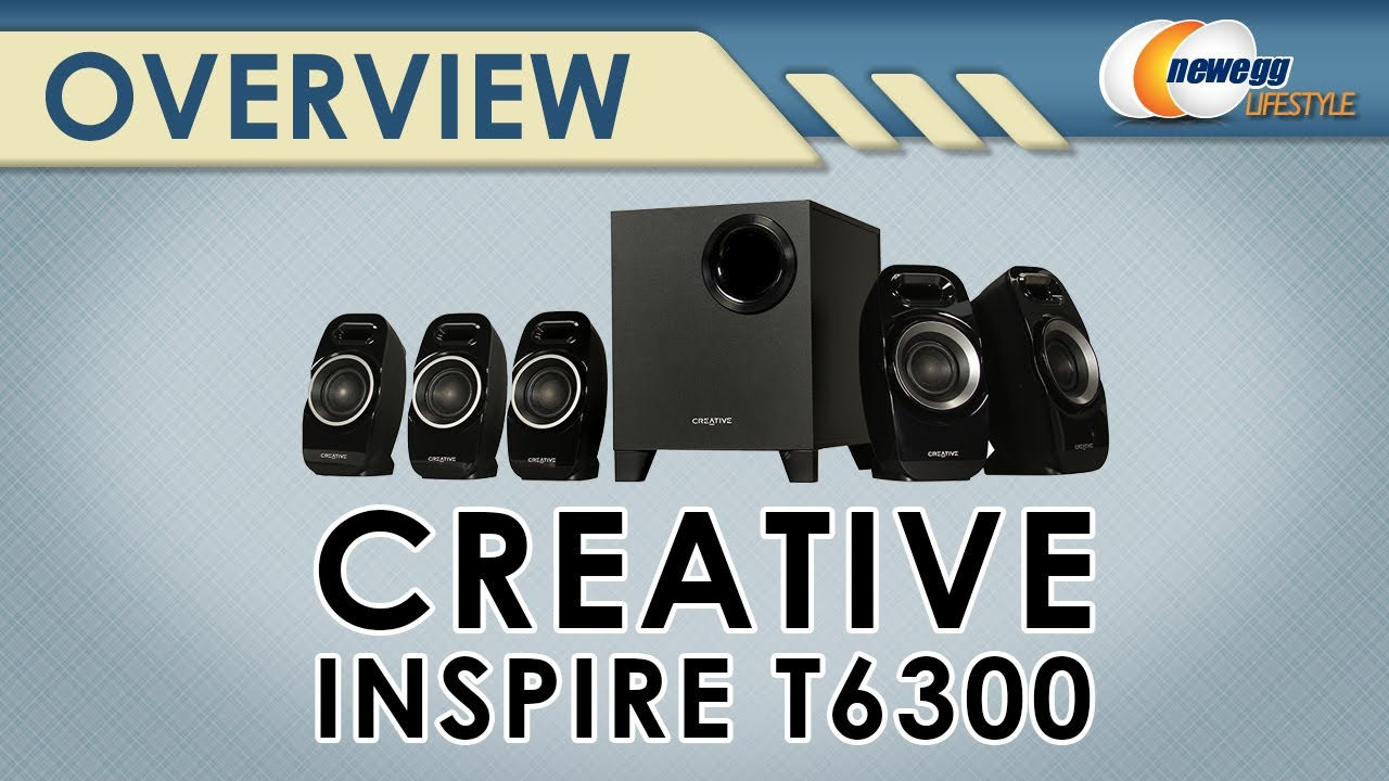 Creative 51MF4115AA002 Creative Inspire T6300 5.1 Speaker System ...