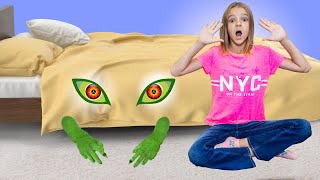 Monster under my bed story. Mike Alice World