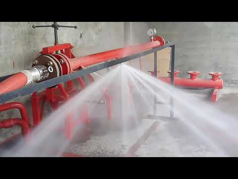 NewAge Fire Protection Industries Pvt. Ltd. Mumbai - Sprinklers Testing