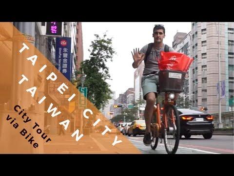 Taipei City, Rent a bike and GO!