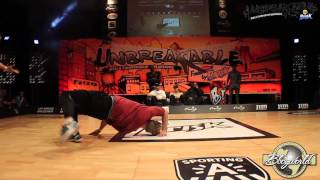 Mounir vs Niek // .BBoy World // BREAKING 1on1 QUARTER-FINAL | UNBREAKABLE 2014