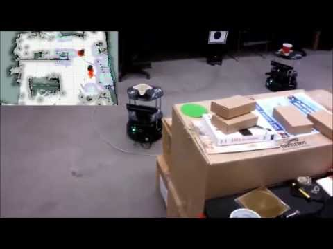 Robotic [Turtlebot] Multi-agent System