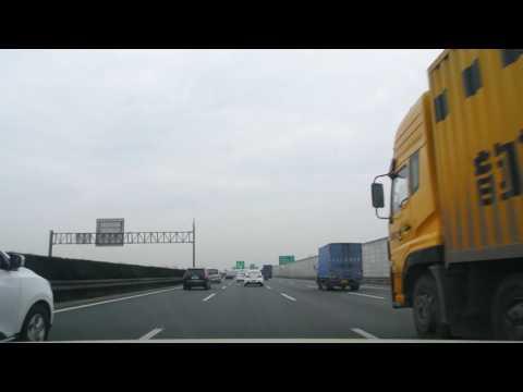 20170101_Driving into Shanghai on G2/G42 Jinghu/Hurong Expressway