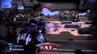 Mass Effect 3: Amplified Concussive Shot with Incendiary Ammo - Damage versus Explosive Burst