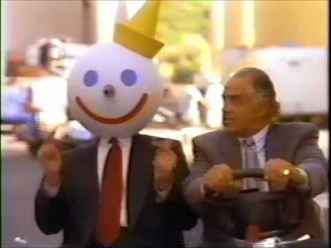 Jack in the Box commercials - back when Jack was funny and fresh
