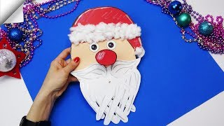DIY christmas | Christmas card ideas santa claus