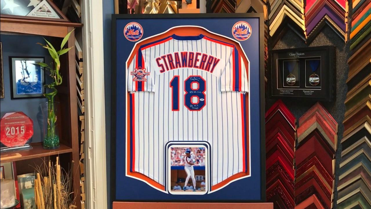 Jersey Framing Mlb Baseball Framed Jersey Jersey Frame Autographed Jersey Sports Mem, Cards & Fan Shop Display Cases