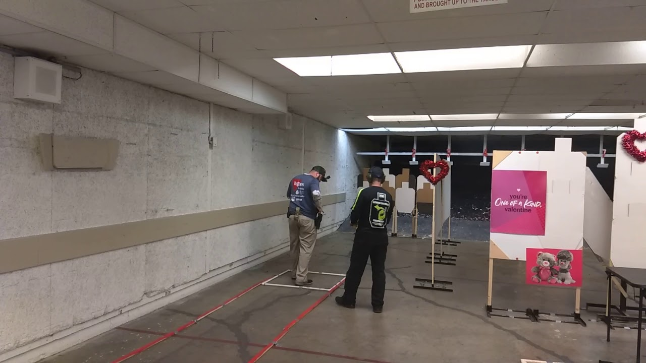 Detroit Sportsman's Congress USPSA - February 2019 - Open Minor - Stage 3 TPV