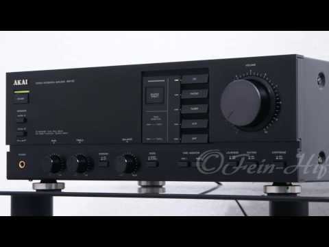 AKAI AM-52 HiFi Verstärker - Amplifier