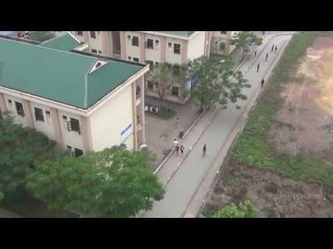 Đại học Công nghệ Thông tin và Truyền thông nhìn từ trên cao [Bird's eye view]