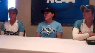 NCAA Softball West Super Regional - Sonoma State, May 16
