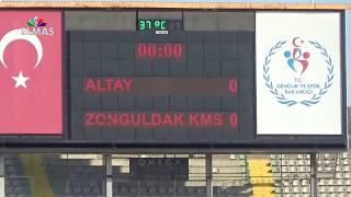 Altay - Zonguldak spor ÖZET ( 1.Hafta - Beyaz grup)