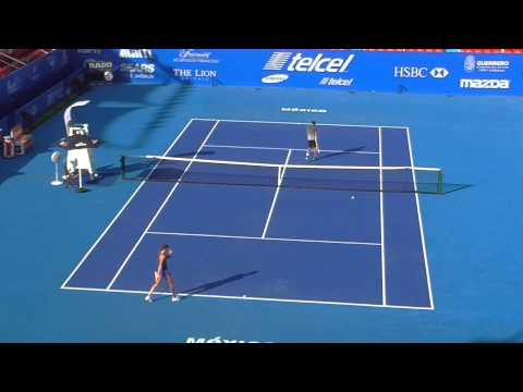 Acapulco Open ATP 500 Manuel Sanchez vs Hantuchova PRACTICE sunday  PART 2