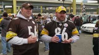 Tailgating Challenge Part One:  Pittsburgh Steelers Fans