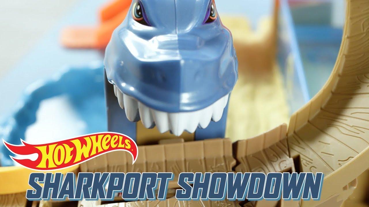 hot wheels sharkport showdown instructions