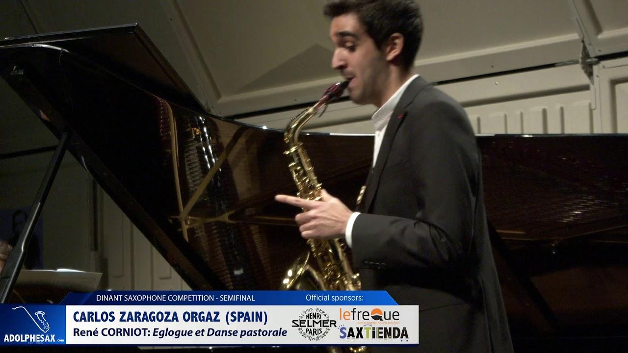 Carlos Zaragoza Orgaz (Spain) - Eglogue et Danse Pastorale by René Corniot (Dinant 2019)
