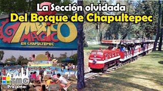 La sección olvidada del Bosque de Chapultepec   México Mágico, Tren Escénico  y Atlantis-La Ola