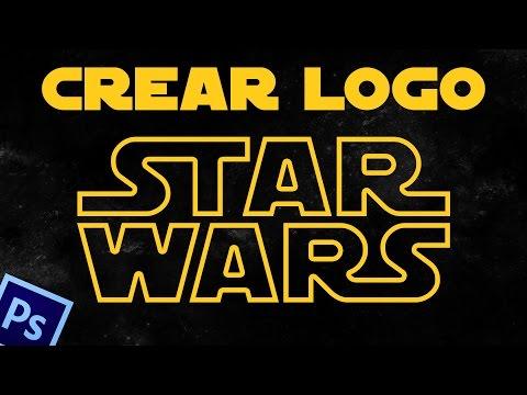 How to create Star Wars logo