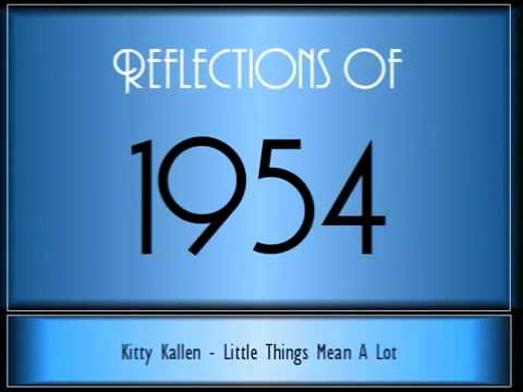 Reflections Of 1954 ♫ ♫ 65 Songs
