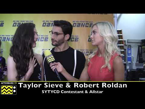 SYTYCD Robert Roldan Tells AfterBuzz How HOT Taylor Sieve And Koine Iwasaki Were In Their Number!