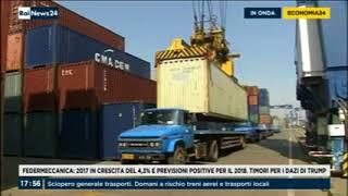 Rai News 24 - 145^ Indagine Congiunturale Federmeccanica: Intervista al Presidente Alberto Dal Poz