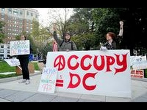 Occupy DC Event 'Infiltrated' By Conservative From American Spectator