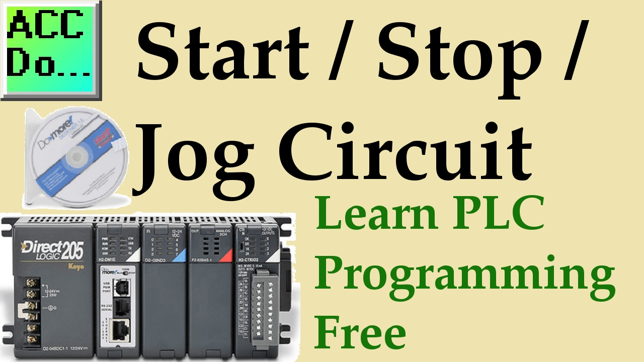 learn plc programming free 4 start stop jog circuit youtube start stop system learn plc programming free 4 start stop jog circuit