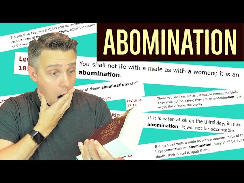Abomination of desolation homosexuality statistics