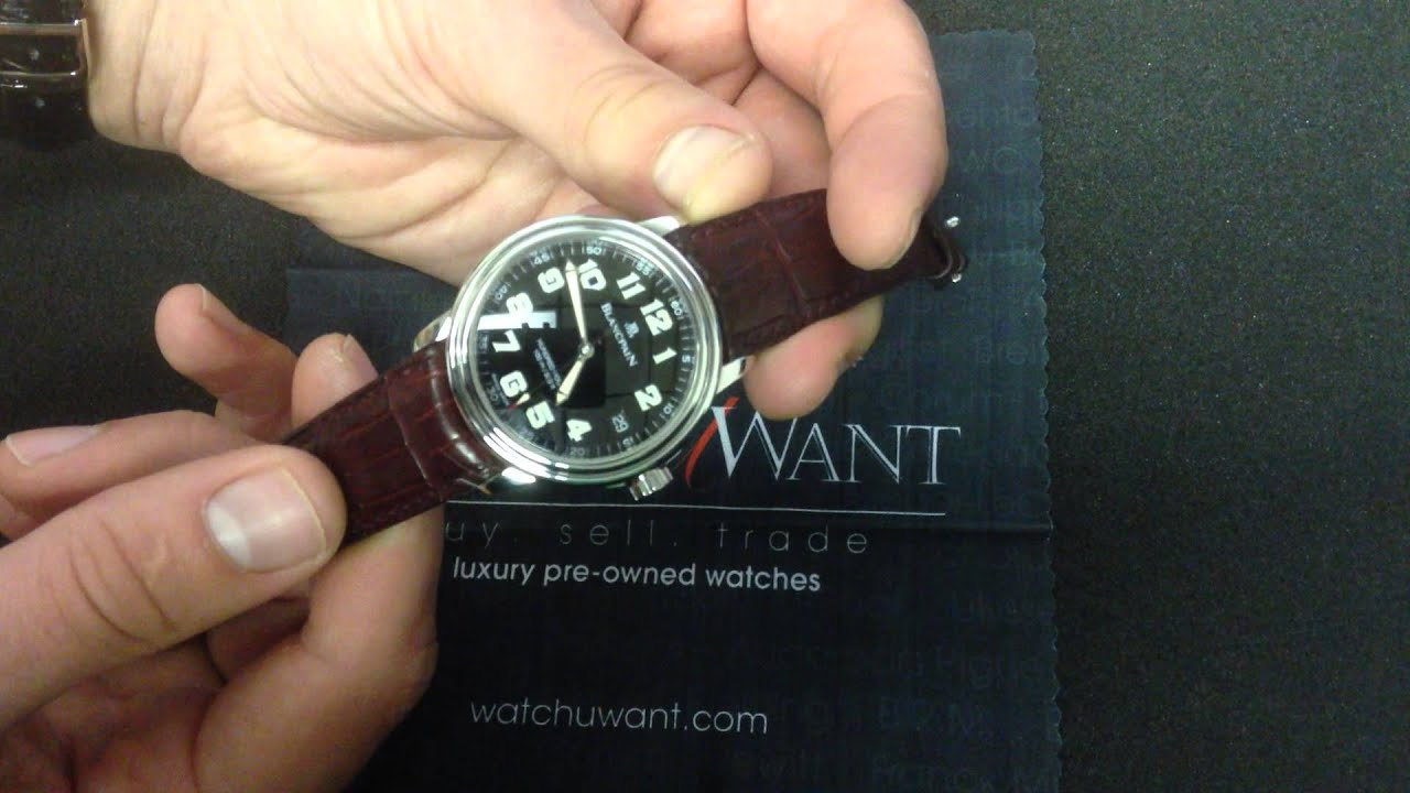 В нашем магазине можно купить наручные часы blancpain. Авторизованный дилер. Гарантия.