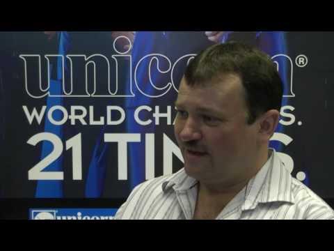 Terry Jenkins speaks to Stuart Pyke