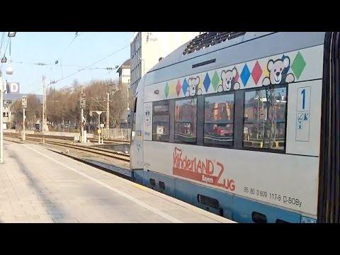 """Die Bayerische Oberlandbahn (Kinderzug """"Warngau"""", Zug """"Agatharied"""" & """"Holzkirchen"""") + UMFRAGE"""